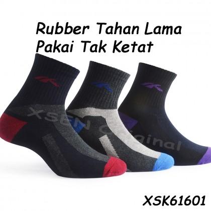 Durability Cotton Deodorant Sock (Sarung Kaki Anti-Bau) For Satefy Shoe Xsen XSK61601